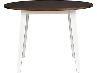 Choices Drop Leaf Table Ivory, , large