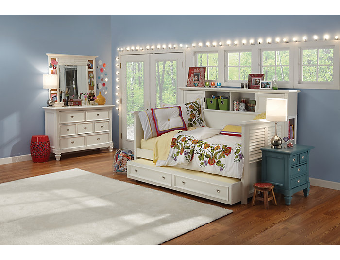 Breeze Daybed with Bookcase, , large