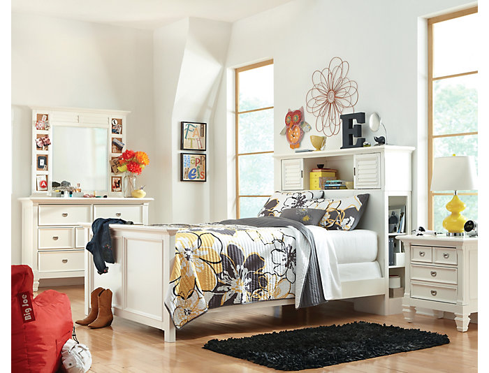Breeze Twin Bookcase Bed, , large