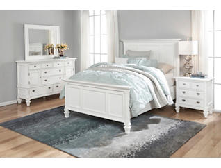 Breeze Grey Queen 3 Piece Bedroom Set | Art Van Home