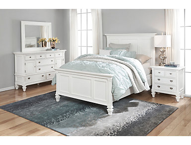 Breeze White 3 Piece Queen Bedroom
