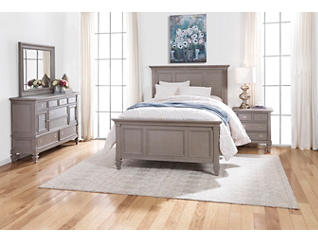 Breeze Grey King 3 Piece Bedroom, , large