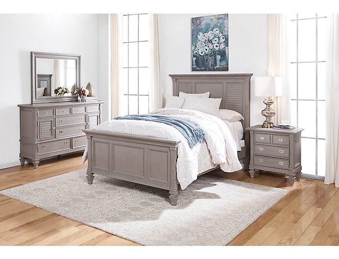 Breeze Grey 3 Piece Queen Bedroom, , large