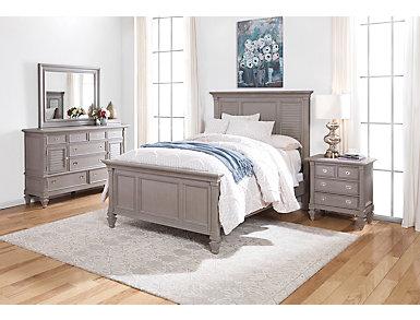 Breeze Grey 3 Piece Queen Bedroom, , large