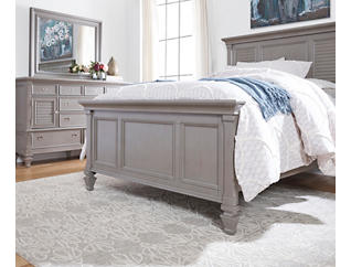 Breeze Grey Queen 3 Piece Bedroom Set, Grey, large