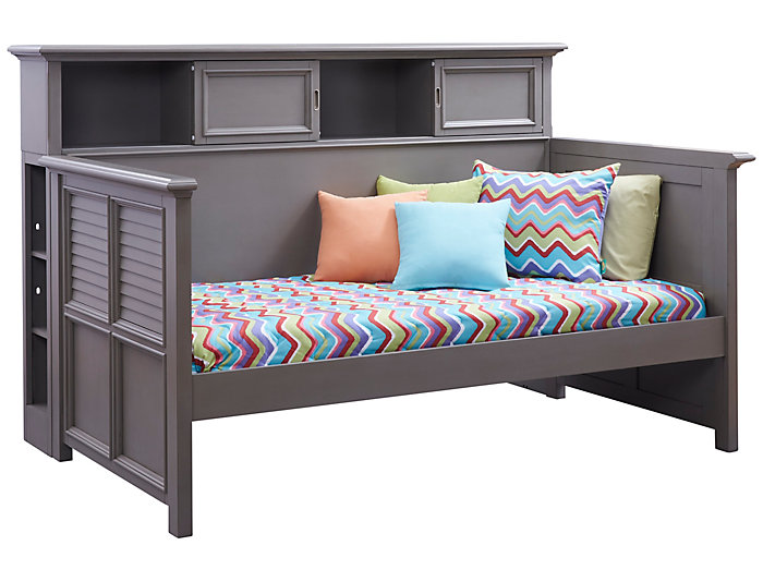 Daybed With Bookcase, , large