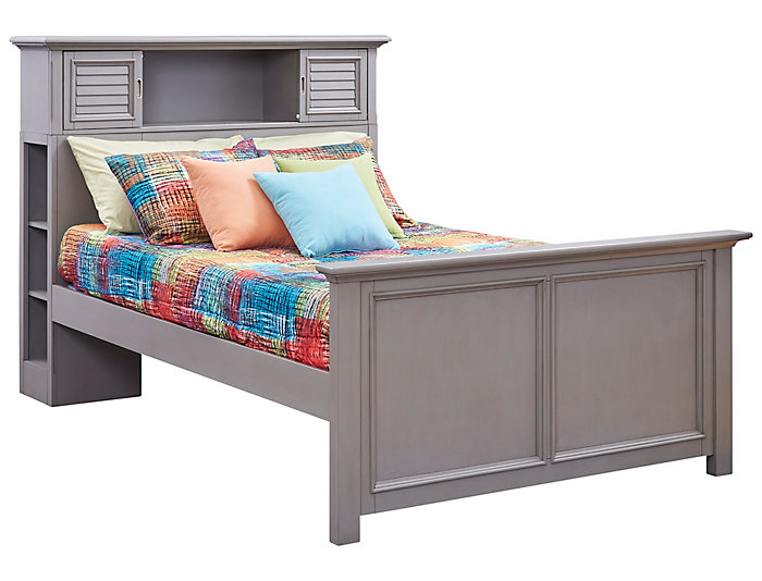 Full Bookcase Bed, , large