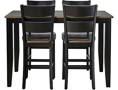Choices 5 Piece Gatherin Set, Charcoal and Ebony, , large