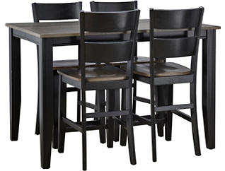 Choices Grey 5 Piece Gathering Set, Charcoal, large