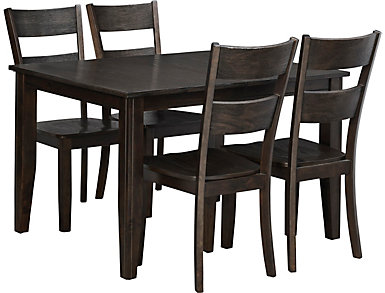 Choices 5 Piece Dining Set, Java, , large