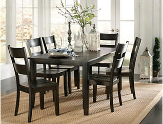 Choices Java 7 Piece Dining Set, , large
