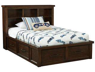 Sonoma Full Book Bed w/Storage, , large
