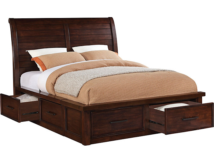 Sonoma King Storage Bed, , large