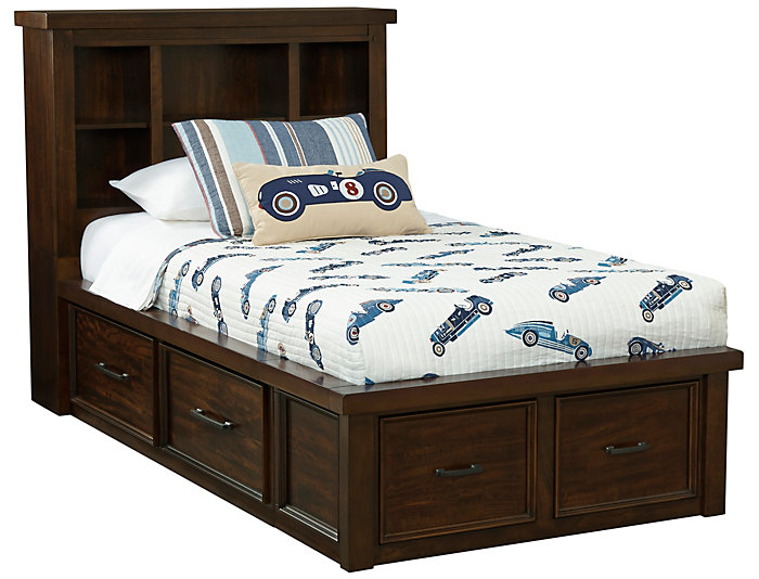 Sonoma Twin Book Bed w/Storage, , large