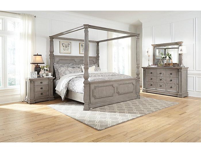 Versailles Queen Canopy Bed