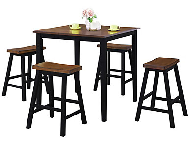 Kay Table and 4 Stools, , large
