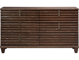 Ridgewood 6 Drawer Dresser, , large