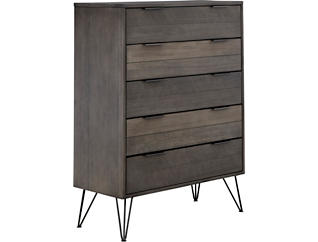 Valley Springs 5 Drawer Chest, , large