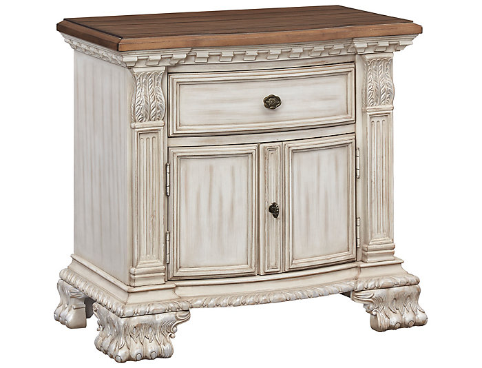 Vicenza 1 Drawer Nightstand, , large