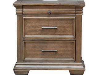 Tucson Nightstand with Stone Top, , large