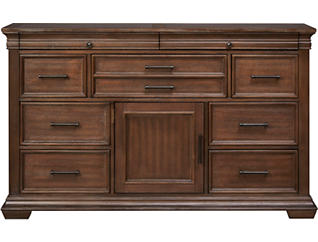 Tucson 9 Drawer Dresser with Stone Top, , large