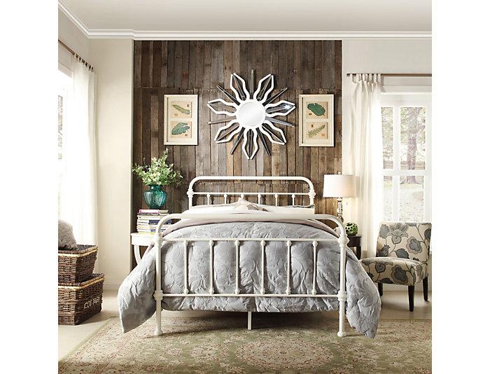 Bedford Full Metal Bed, , large