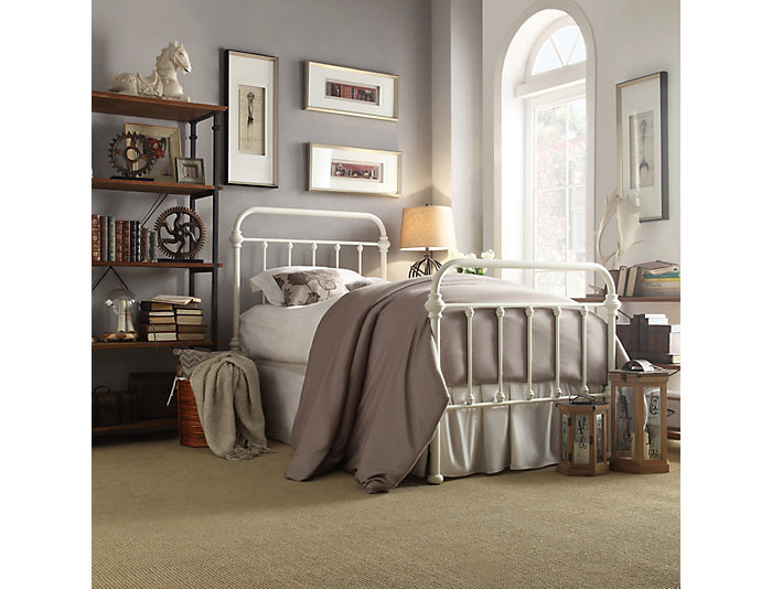 Bedford Twin Metal Bed, , large