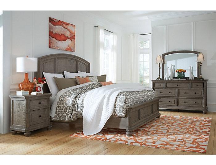 Richmond King Panel Bed, , large
