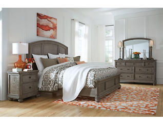 Richmond King Panel Bed, , large