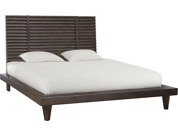 Ridgewood Queen Platform Bed, , large