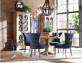 """San Rafael Oak 54"""" Round Dining Table, , large"""