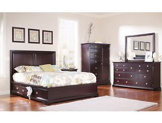 Orleans Merlot 10 Drawer Dresser, , large
