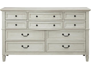 Lakeshore White 10Dr Dresser, , large
