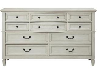 Lakeshore White 10Dr Dresser, , large