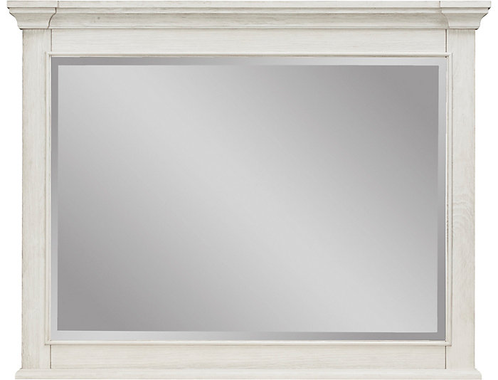 Lakeshore White Mirror, , large
