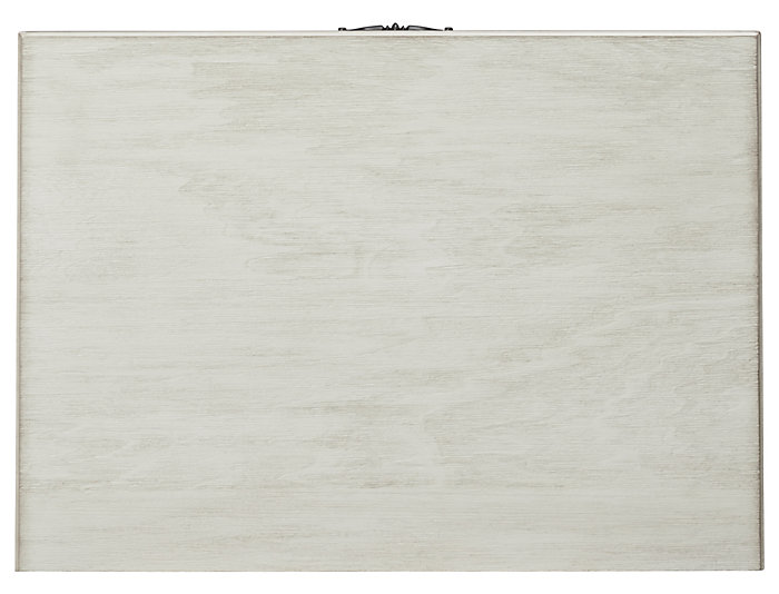 Lakeshore White 3 Drawer Nightstand, , large