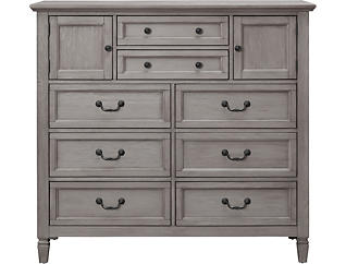Lakeshore Grey 8Dr Chest, , large