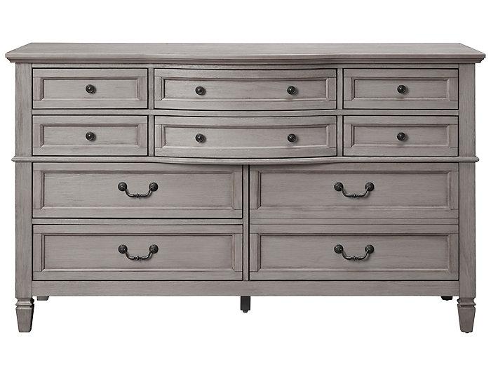 Lakeshore Grey 10Dr Dresser, , large