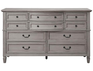 Lakeshore Grey 10Dr Dresser, , large