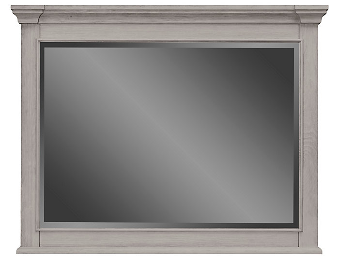 Lakeshore Grey Mirror, , large