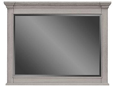 Lakeshore Grey Mirror, , large