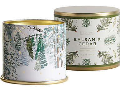 Balsam   Cedar Candle Large Tin, , large