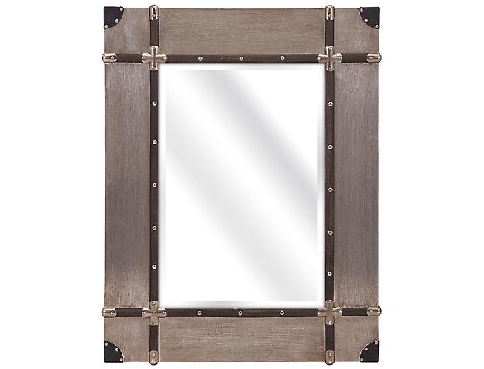 Baker Aluminum Clad Mirror, , large