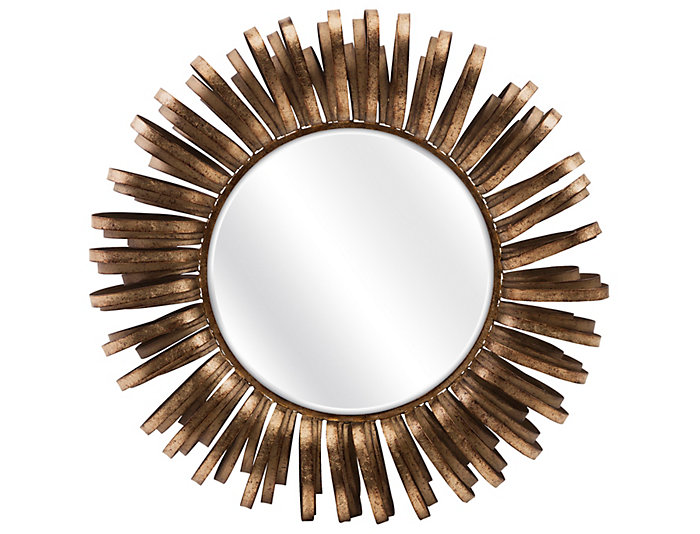 Harlin Round Wall Mirror, , large