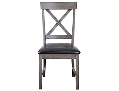 Family Dining X Back Side Chair, , large