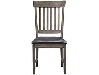 Family Dining Slat Back Side Chair, , large