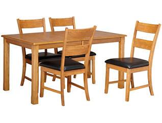 5pc Leg Table DiningSet, , large