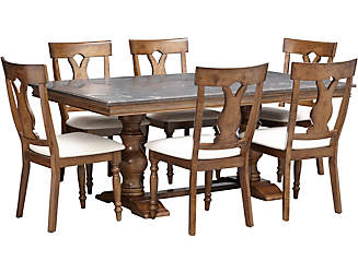 Luciano Table And 6 Chairs
