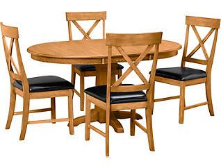 5pc Dining Set, , large