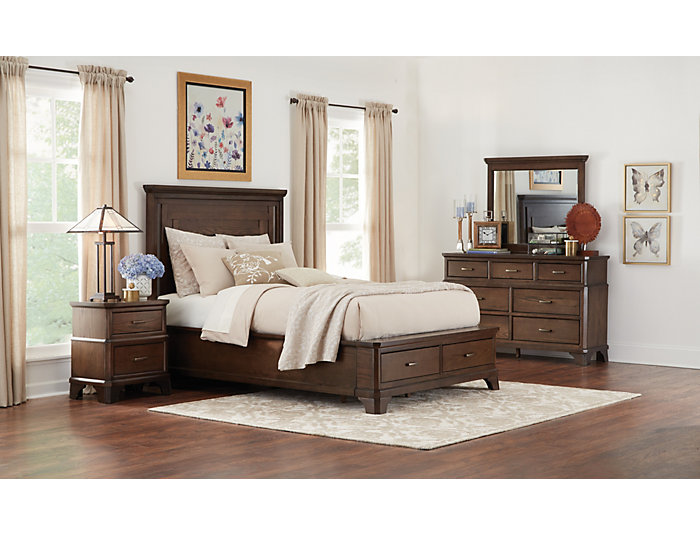 Telluride Queen Storage Bed, , large